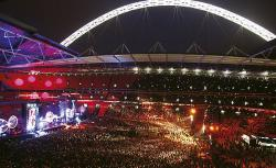 An image of Wembley Stadium uploaded by facebook-user-84896