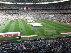 An image of Wembley Stadium uploaded by peter-tucker