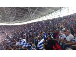 An image of Wembley Stadium uploaded by biscuitman88