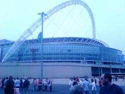 An image of Wembley Stadium uploaded by facebook-user-75535