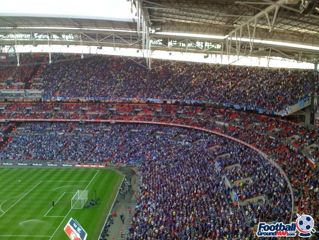A photo of Wembley Stadium uploaded by facebook-user-35028