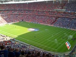 An image of Wembley Stadium uploaded by facebook-user-35028