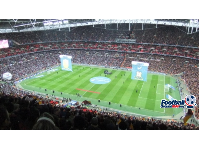 A photo of Wembley Stadium uploaded by banched