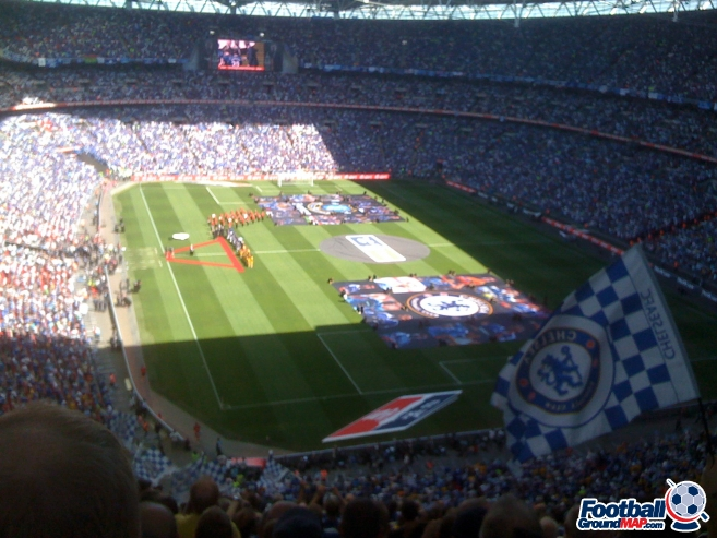 A photo of Wembley Stadium uploaded by facebook-user-49968