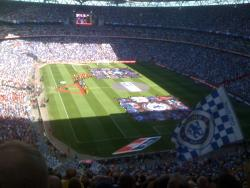 An image of Wembley Stadium uploaded by facebook-user-49968