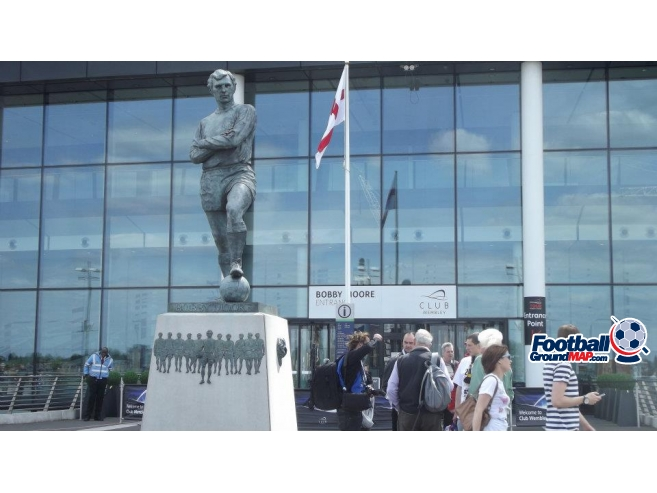 A photo of Wembley Stadium uploaded by davielaird