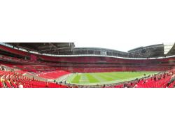 An image of Wembley Stadium uploaded by davielaird