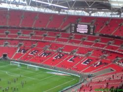 An image of Wembley Stadium uploaded by thomasfish
