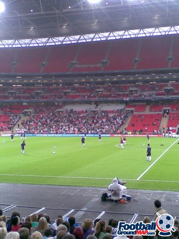 A photo of Wembley Stadium uploaded by facebook-user-86333