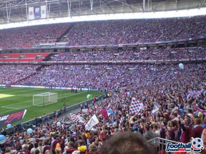 A photo of Wembley Stadium uploaded by facebook-user-66963