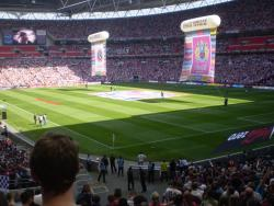 An image of Wembley Stadium uploaded by facebook-user-66963