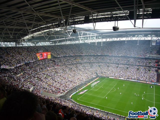 A photo of Wembley Stadium uploaded by snej72