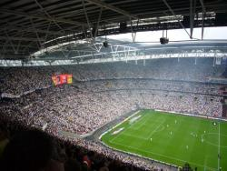 An image of Wembley Stadium uploaded by snej72