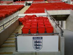 An image of Wembley Stadium uploaded by facebook-user-90844