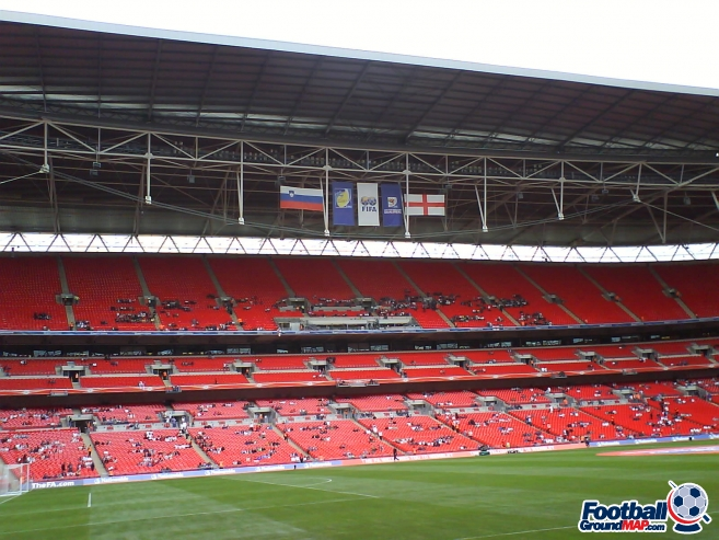 A photo of Wembley Stadium uploaded by facebook-user-85885