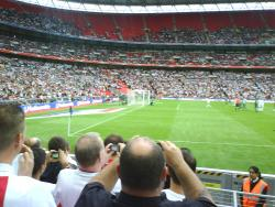 An image of Wembley Stadium uploaded by facebook-user-85885