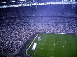 An image of Wembley Stadium uploaded by facebook-user-57304