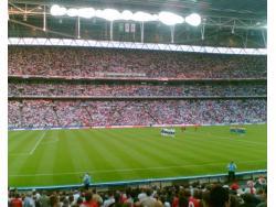 An image of Wembley Stadium uploaded by simon