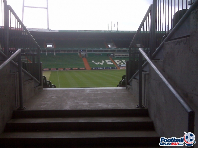 A photo of Weserstadion uploaded by dannyptfc