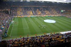 An image of Westfalenstadion (Signal Iduna Park) uploaded by newrynyuk