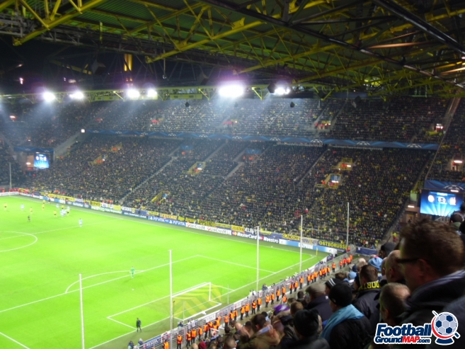 A photo of Westfalenstadion (Signal Iduna Park) uploaded by smithybridge-blue