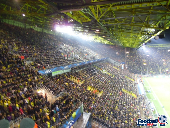 A photo of Westfalenstadion (Signal Iduna Park) uploaded by smithybridge-blue