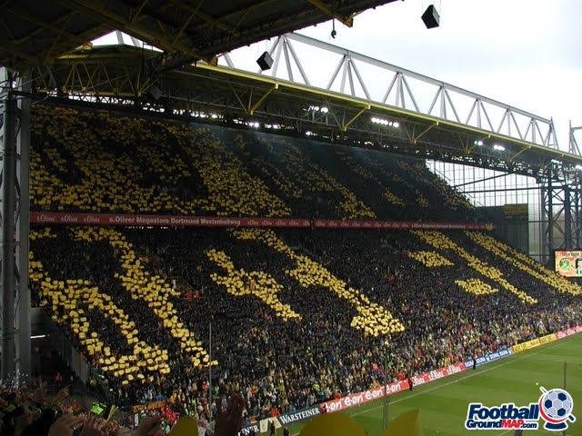 A photo of Westfalenstadion (Signal Iduna Park) uploaded by snej72