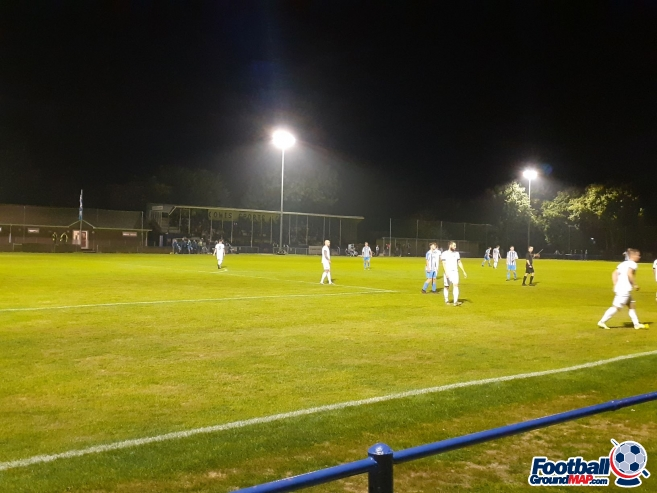 Westwood Park, home to Cowes Sports, Cowes Sports Reserves ...