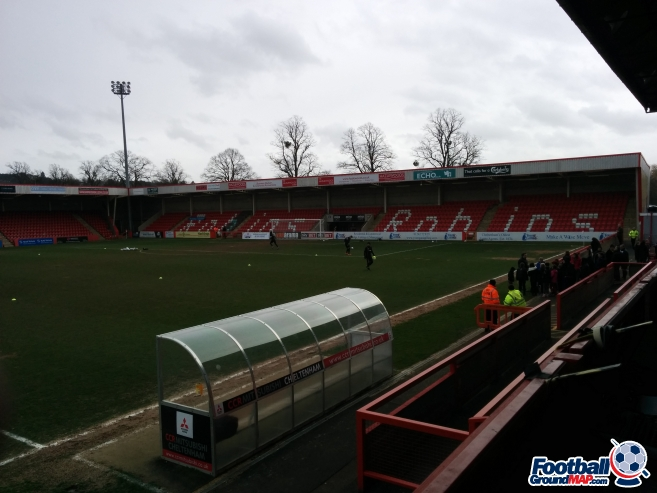 A photo of Whaddon Road uploaded by matttheox