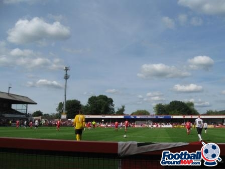 A photo of Whaddon Road uploaded by majgtfc