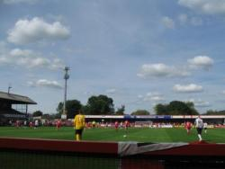 An image of Whaddon Road uploaded by majgtfc