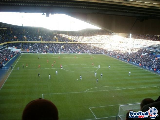 A photo of White Hart Lane uploaded by mattycafc