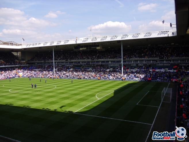A photo of White Hart Lane uploaded by smithybridge-blue