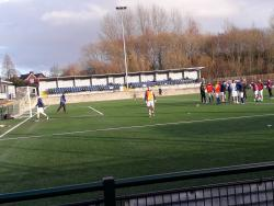 An image of Whitebank Stadium uploaded by johnnyheighway