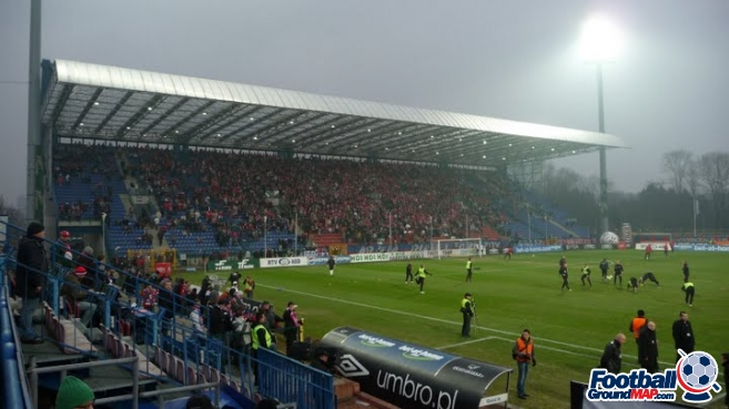 A photo of Wisla Stadium uploaded by snej72