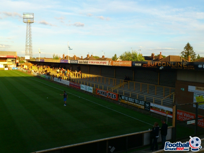 A photo of York Street (The Jakemans Stadium) uploaded by facebook-user-46612