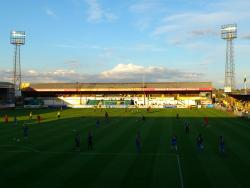 An image of York Street (The Jakemans Stadium) uploaded by biscuitman88
