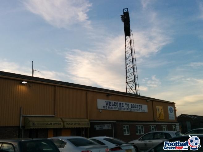 A photo of York Street (The Jakemans Stadium) uploaded by matttheox
