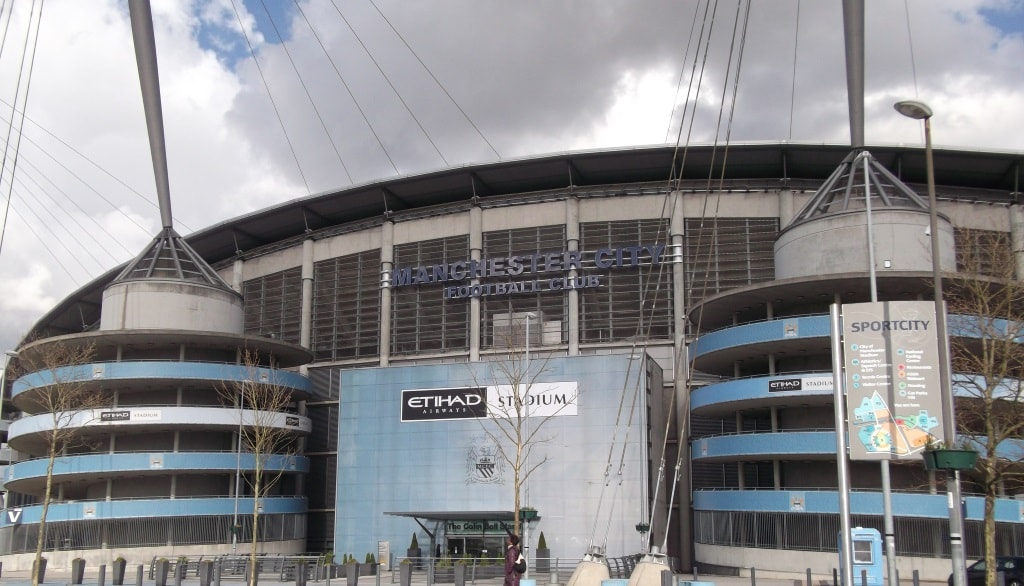 The Etihad Stadium, Manchester
