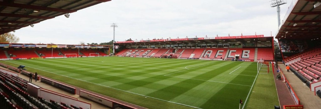 Dean Court - home to AFC Bournemouth