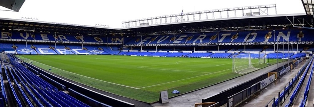Goodison Park - home to Everton