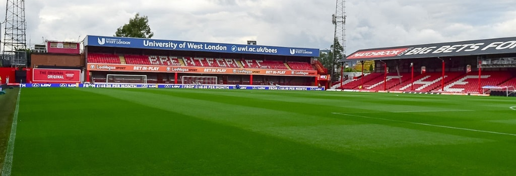 Griffin Park - home to Brentford