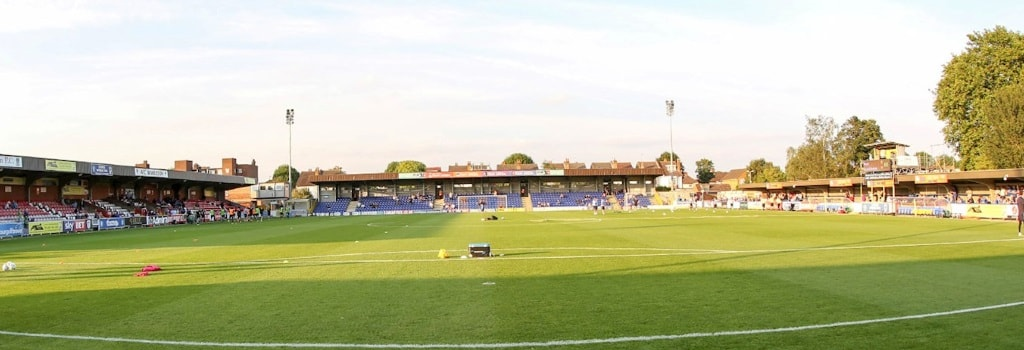 Kingsmeadow - home to AFC Wimbledon