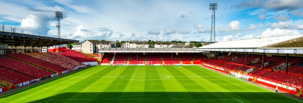 Pittodrie - home to Aberdeen