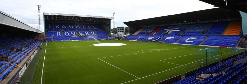 Prenton Park - home to Tranmere Rovers
