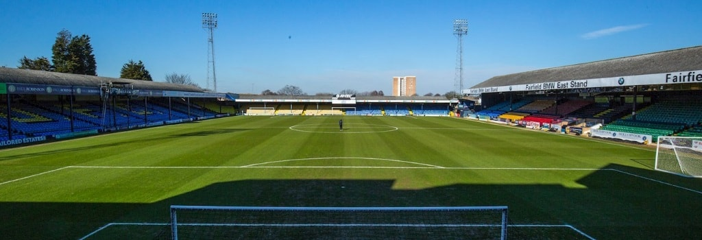 Roots Hall - home to Southend United
