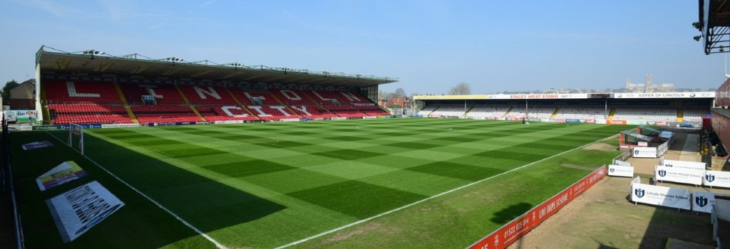 Sincil Bank - home to Lincoln City