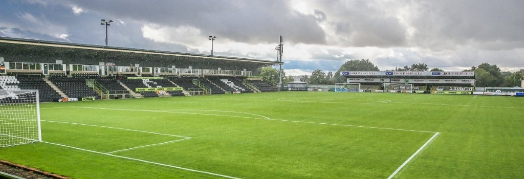 The New Lawn - home to Forest Green Rovers