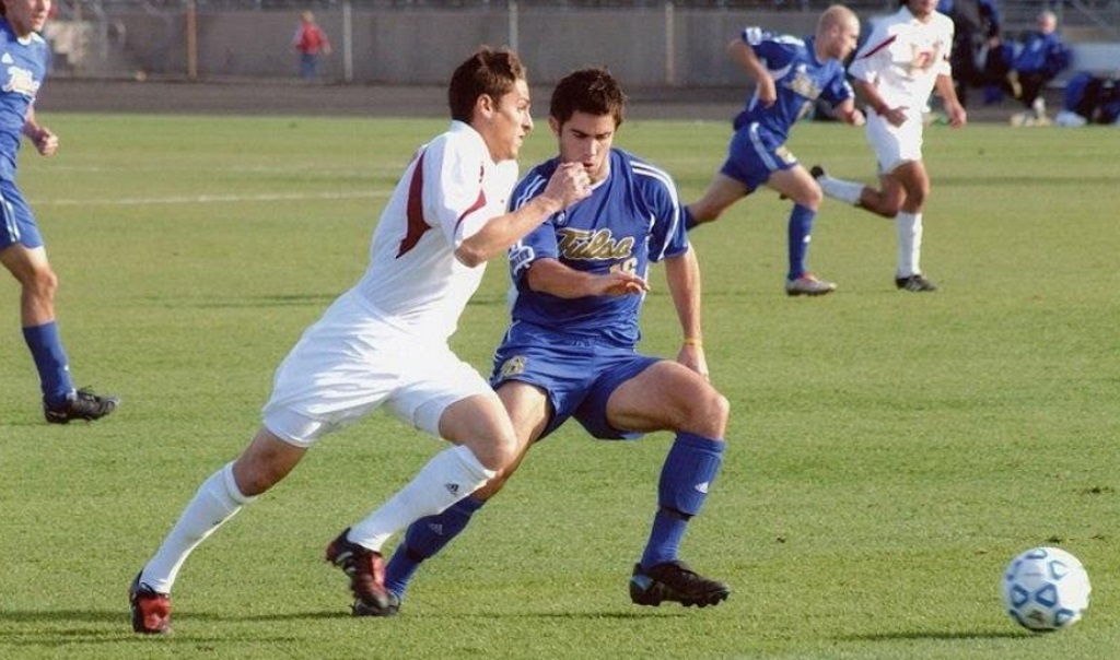 Playing soccer in college