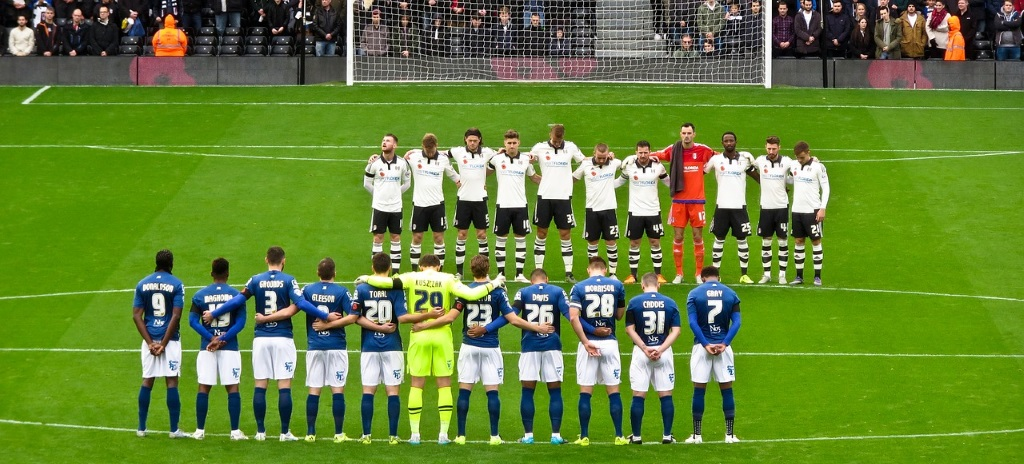 Minute's silence at Fulham